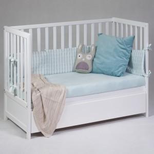 Łóżeczko dziecięce Michaś Listewkowy | WisadforBaby